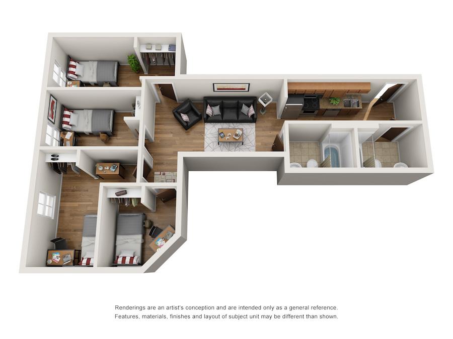five bedroom in Durham, nc